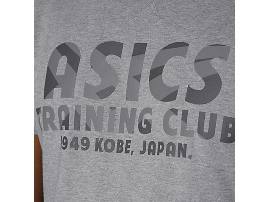 TRAINING CLUB SS TOP HEATHER GREY 15
