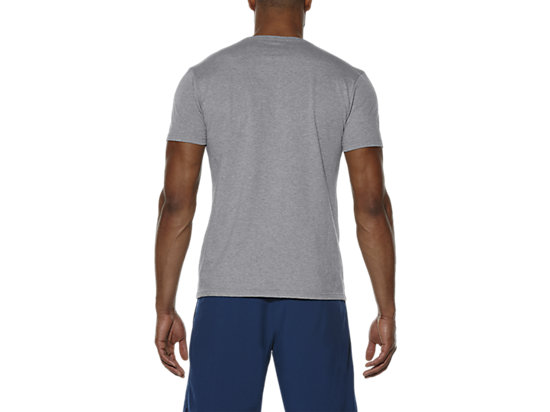 TRAINING CLUB SS TOP HEATHER GREY 11
