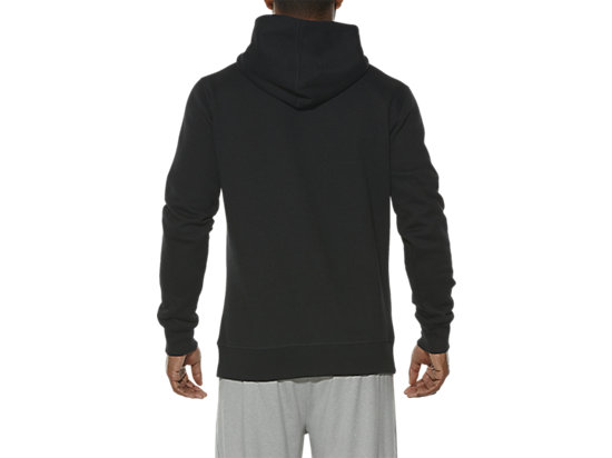 ESSENTIALS HOODIE PERFORMANCE BLACK 11