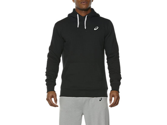 ESSENTIALS HOODIE PERFORMANCE BLACK 3