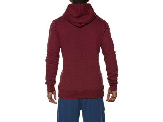 TRAININGSCLUB HOODY POMEGRANATE 11 BK