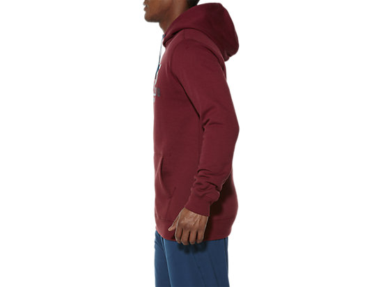 TRAININGSCLUB HOODY POMEGRANATE 7 LT