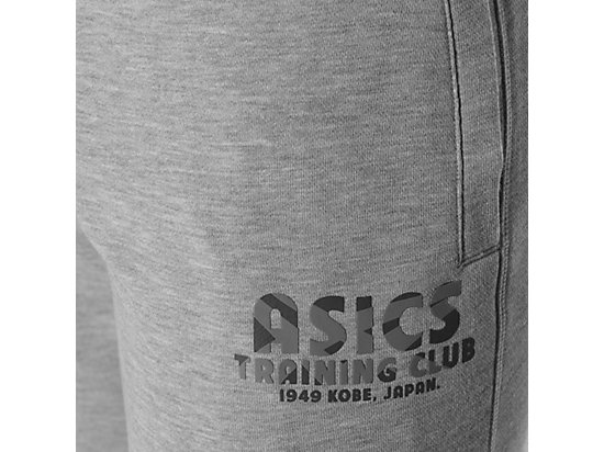 PANTALÓN CORTO DE PUNTO CLUB DE ENTRENAMIENTO HEATHER GREY 11