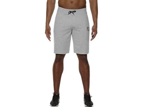 GEBREIDE CLUB-TRAININGSHORT HEATHER GREY 3