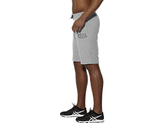 GEBREIDE CLUB-TRAININGSHORT HEATHER GREY 7