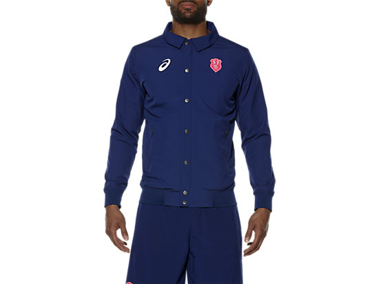 MEN'S STADE FRANCAIS PRESENTATION JACKET BLUE DEPTHS 3