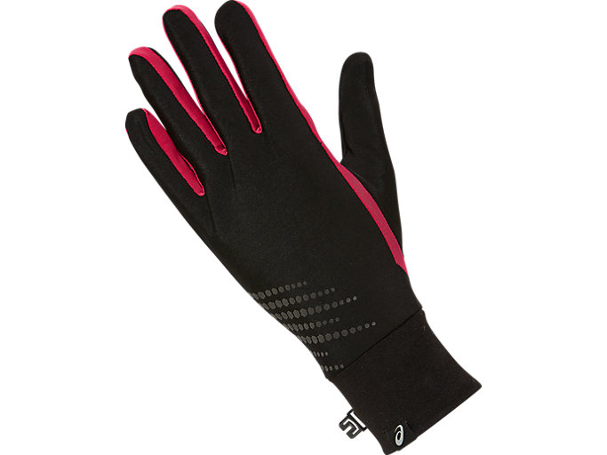 Front Top view of BASIC PERFORMANCE GLOVES, COSMO PINK