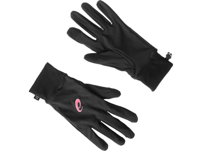 Back view of Performance pack – winter beanie plus gloves, SPORT PINK