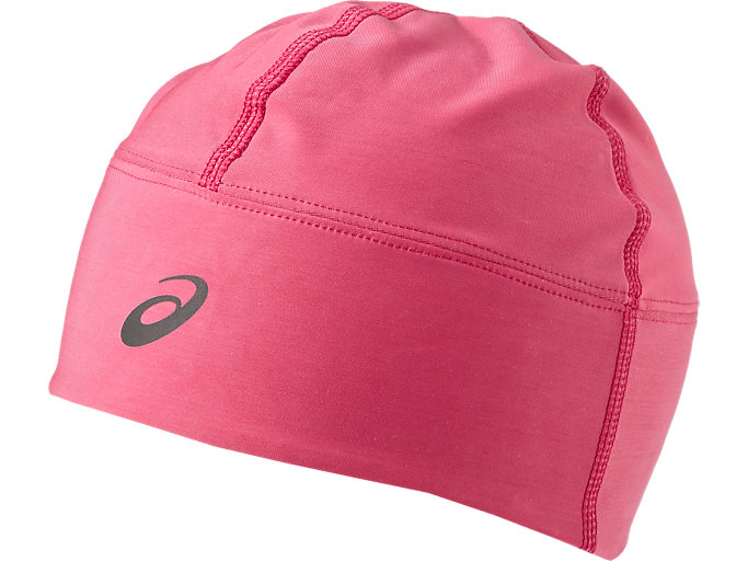 Front Top view of Performance pack – winter beanie plus gloves, SPORT PINK