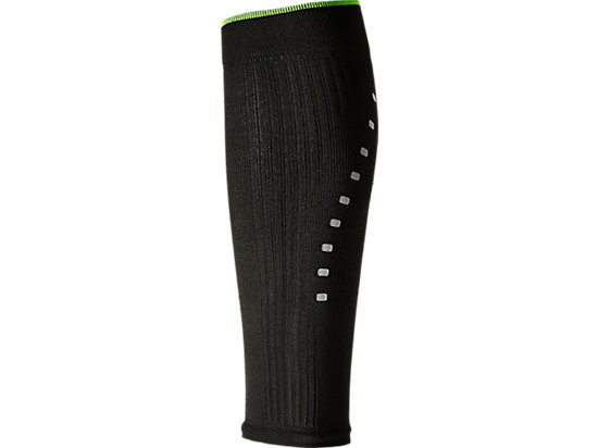 LB COMPRESSION CALF SLEEVE PERFORMANCE BLACK/SULPHUR SPRING 3