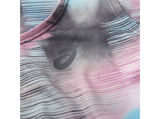 GRAPHIC FITTED TANK ABSTRACT NUAGE 11 Z