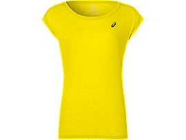 LAYERING TOP, BLAZING YELLOW