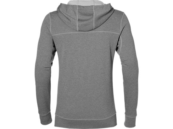 TECH FZ HOODY MID GREY HEATHER 7