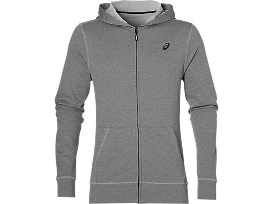 TECH FZ HOODY MID GREY HEATHER 3