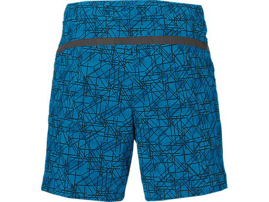 7IN WOVEN SHORT THUND BLU STRUCT GEO 7