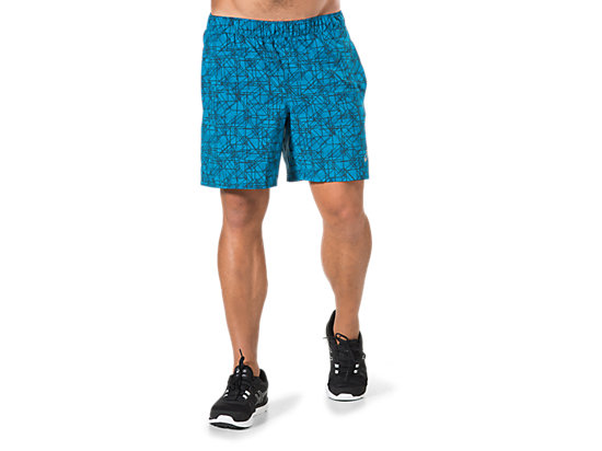 7IN WOVEN SHORT, Thund Blu Struct Geo