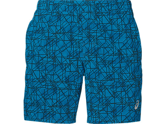 7IN WOVEN SHORT THUND BLU STRUCT GEO 3 FT