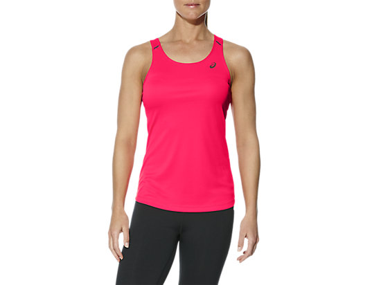 OPEN BACK TRAININGSTANKTOP FÜR DAMEN, Diva Pink