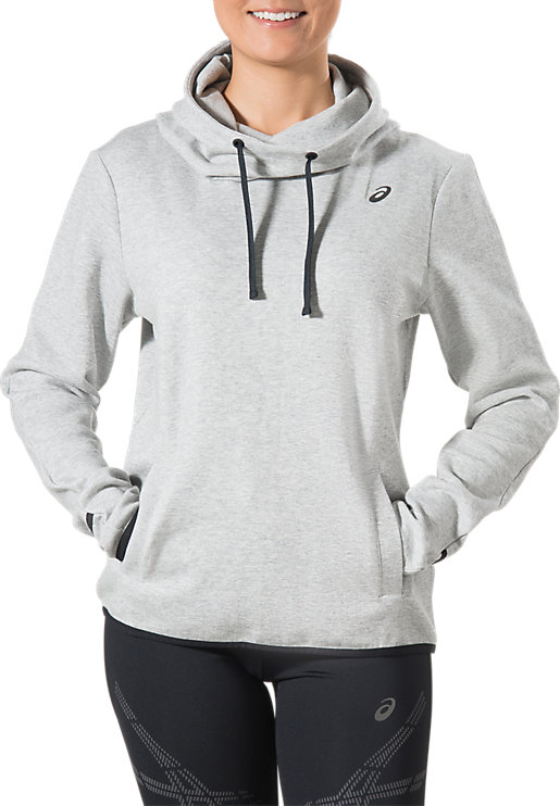 PULLOVER HOODIE | Women | Light Grey Heather | ASICS AU