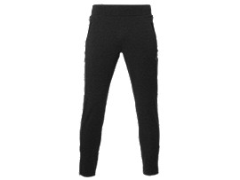 GEBREIDE TRAININGSBROEK VOOR HEREN, Performance Black Heather