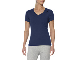 LOGO V-NECK TOP