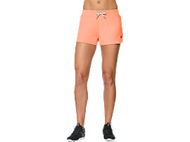 Knit trainingsshort voor dames