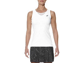 W ATHLETE TANK, Real White