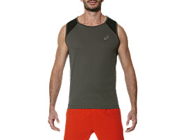 RACE SINGLET, Dark Grey