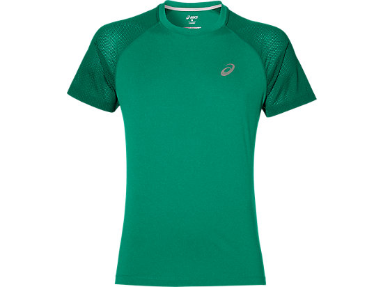 LITE-SHOW SS TOP JUNGLE GREEN HEATHER 3