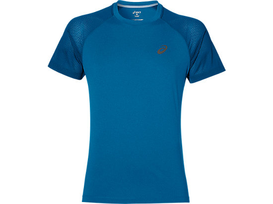 LITE-SHOW SS TOP THUNDER BLUE HEATHER 3