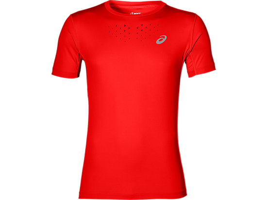 STRIDE SS TOP, Fiery Red
