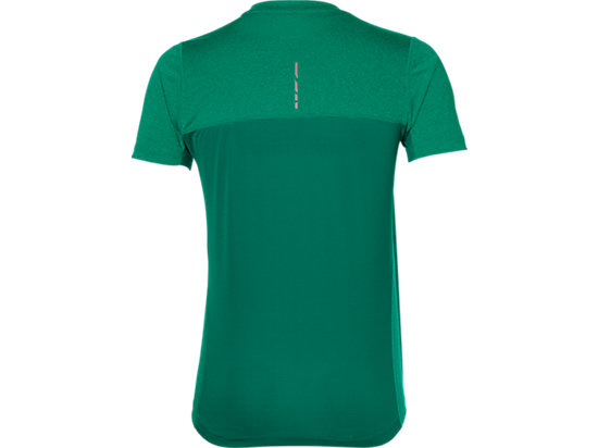 STRIDE SS TOP JUNGLE GREEN HEATHER 7 BK