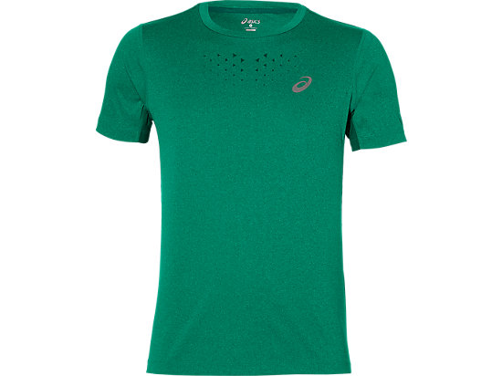 STRIDE SS TOP JUNGLE GREEN HEATHER 3