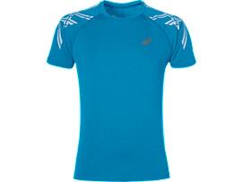 Camiseta de running con franjas ASICS para hombre