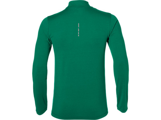 LS 1/2 ZIP JERSEY JUNGLE GREEN HEATHER 7