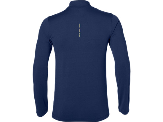 LS 1/2 ZIP JERSEY INDIGO BLUE HEATHER 7