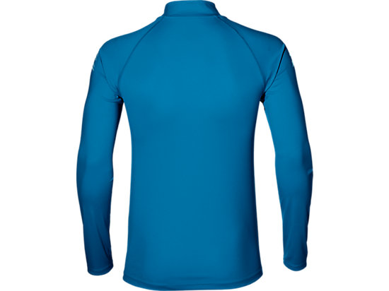 ASICS STRIPE 1/2 ZIP THUNDER BLUE 7 BK