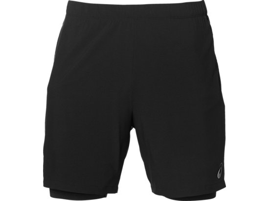 RACE 2-N-1 7IN SHORT, Performance Black