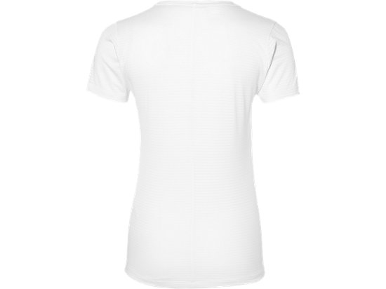 fuzeX V-NECK SS TOP REAL WHITE 7