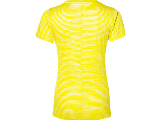 fuzeX V-NECK SS TOP BLAZING YELLOW 7 BK