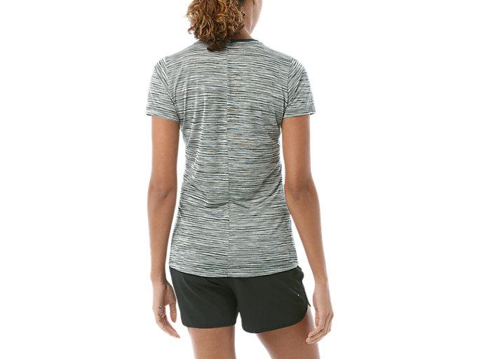 Alternative image view of Camiseta de running fuzeX con cuello de pico para mujer, HAMPTON GREEN