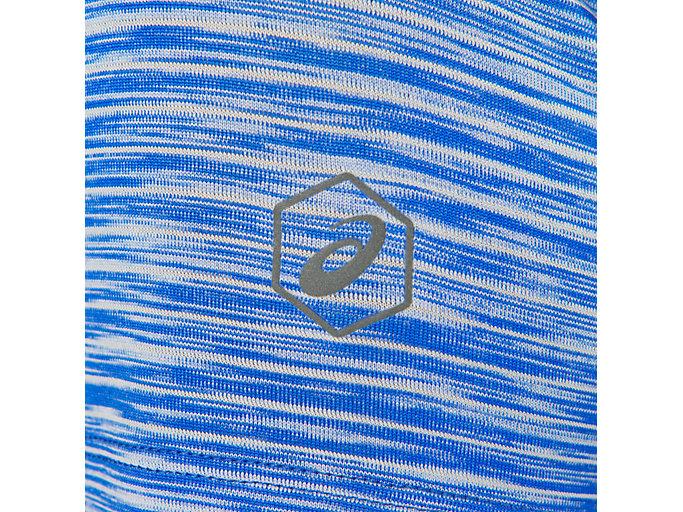 Alternative image view of Camiseta de running fuzeX con cuello de pico para mujer, BLUE PURPLE