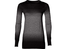 FUZEX SEAMLESS LS, Performance Black