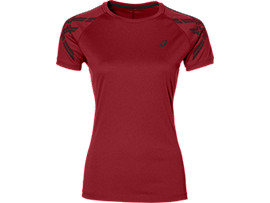 HAUT DE RUNNING ASICS STRIPE, Cosmo Pink Heather