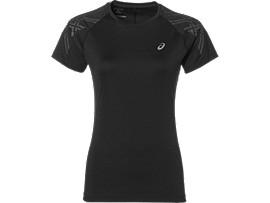 Camiseta de running con franjas ASICS para mujer