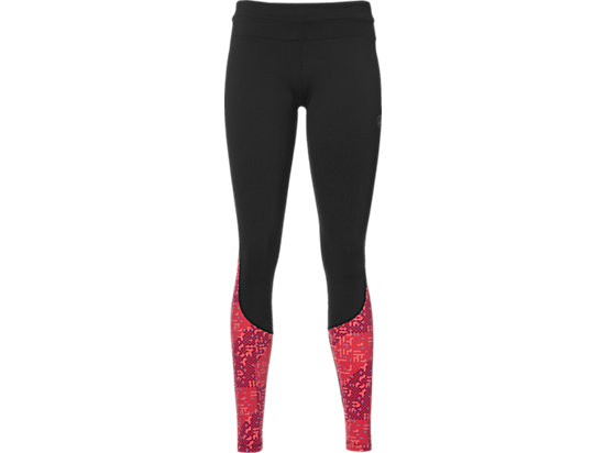 RACE TIGHT, Performance Black/Lite Stripe Cosmo Pink