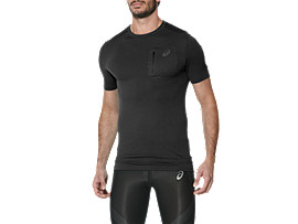 MAGLIA MANICA CORTA ELITE, Performance Black