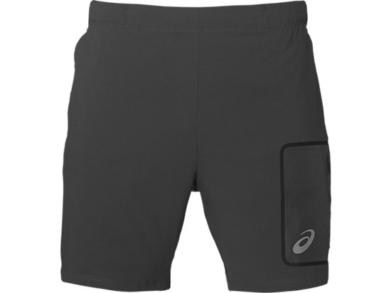 ELITE 7IN SHORT DARK GREY 3