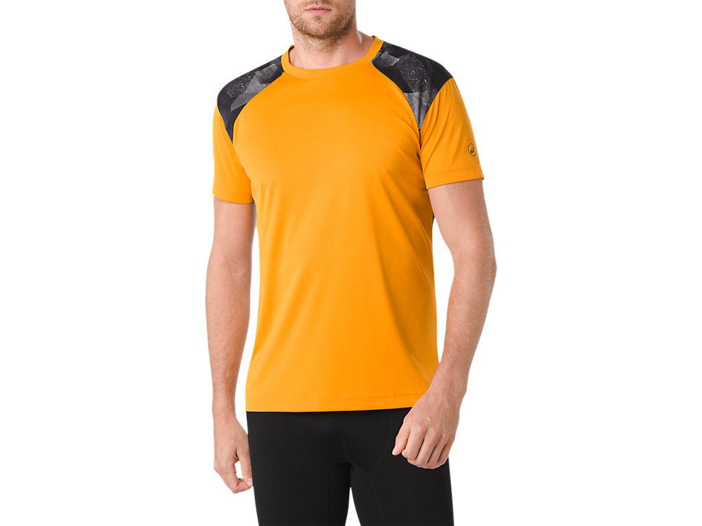 Onitsuka Tiger par Polo à manches courtes shirt Asics Men Deep Yellow [m] dfc1M