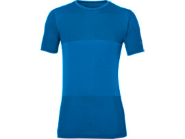 FUZEX SEAMLESS SHORT SLEEVE TOP, Directoire Blue